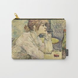 Henri De Toulouse Lautrec - The Hangover Carry-All Pouch