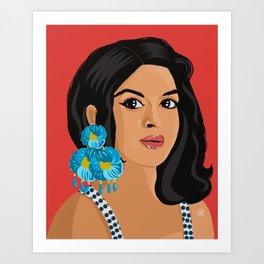 Lola - Faraona Art Print