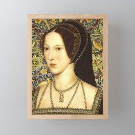 Queen Anne Boleyn Framed Mini Art Print