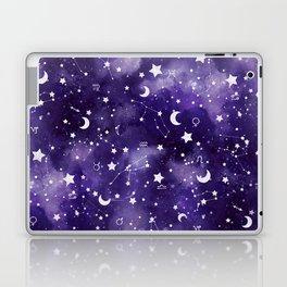 Zodiac Watercolor Ultraviolet Laptop & iPad Skin