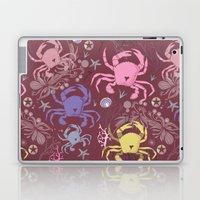 Crab pattern Laptop & iPad Skin