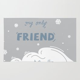 Wind My Only Friend Rug
