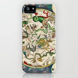 De Wit's Southern Celestial Hemisphere 1670 iPhone Case