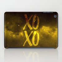 xoxo iPad Cases featuring XOXO by cat&wolf