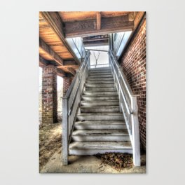 The Backstairs Canvas Print