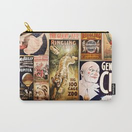 Circus Collage Carry-All Pouch