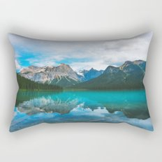 The Mountains and Blue Water Rectangular Pillow