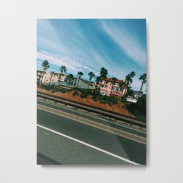 Pacific Coast Highway. Metal Print