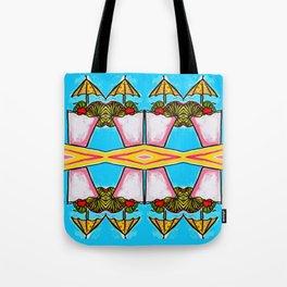 Miami Vice - Tropical Drink - Beach Cocktail - daiquiri Tote Bag