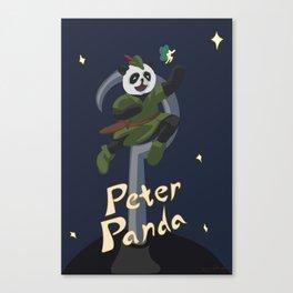 Peter Panda Canvas Print