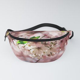 Pink Cherry Blossoms Fanny Pack