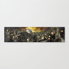3:33 - In The Middle of Infinity (Panorama) Canvas Print