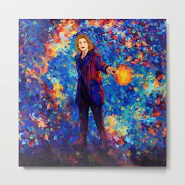 Beautiful 13th doctor abstract art Metal Print
