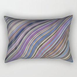 Wild Wavy Lines 12 Rectangular Pillow