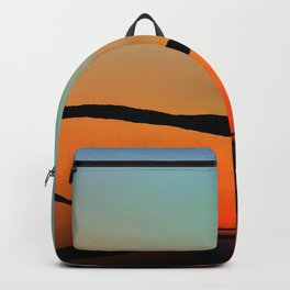 Colorful Bright Modern Art - Eternal Light 2 - Sharon Cummings Backpack