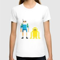 finn and jake T-shirts featuring Finn & Jake by Pahito