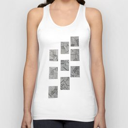 rubik's cube two Unisex Tank Top