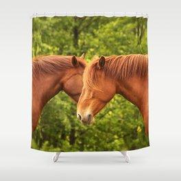 Beautiful Horses #decor #society6 #buyart Shower Curtain