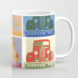 Pontiac 1935 9 times pop art style Coffee Mug