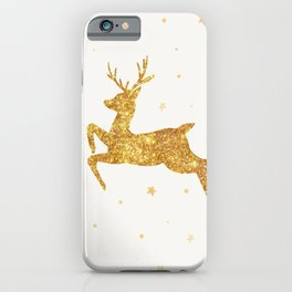 Golden Deer iPhone Case