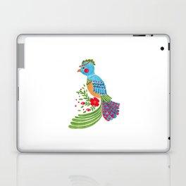 The Blue Quetzal Laptop & iPad Skin