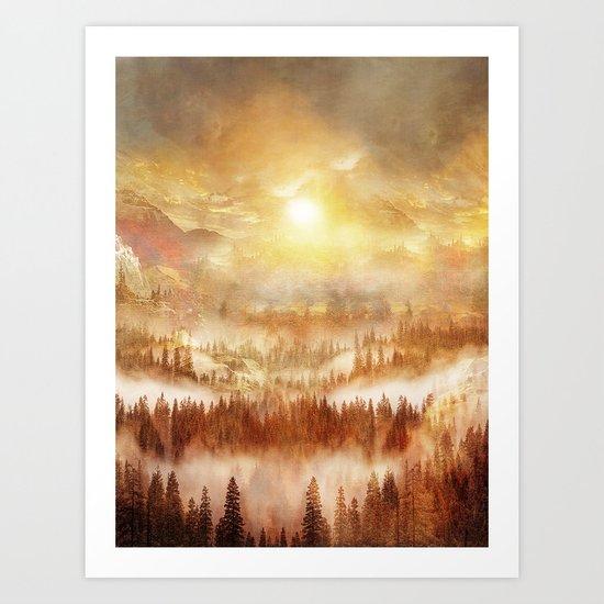 Wish You Were Here (Chapter II) Art Print