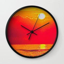 Atlantic Sunrise Wall Clock