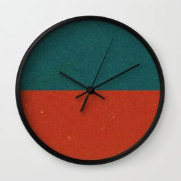 Vintage Nautical Flag Wall Clock