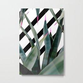 Gran Agave Art Metal Print