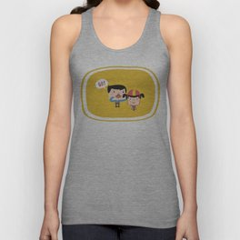 Let's Go! (Yellow Tales Series #3) Unisex Tank Top