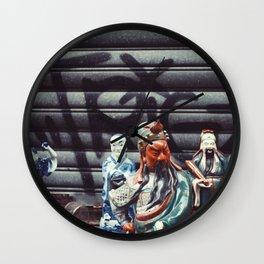 figures Wall Clock