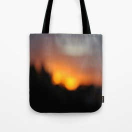 Blurred Suns Tote Bag