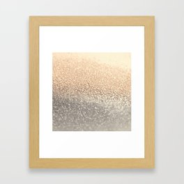 GOLD GOLD GOLD Framed Art Print