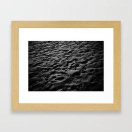 The Sand Framed Art Print