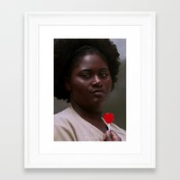 oitnb Framed Art Prints featuring Taystee, OITNB by sinika