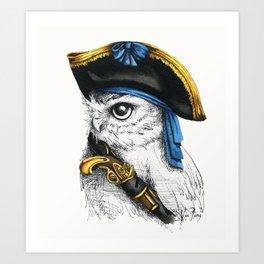 Captain Hoo Art Print