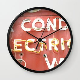 Billboard Wall Clock