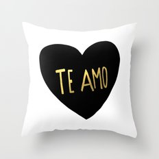 Te Amo Throw Pillow