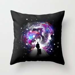 Space Traveler Throw Pillow