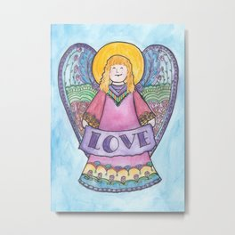 Angel of Love (Angel Series #4) Metal Print