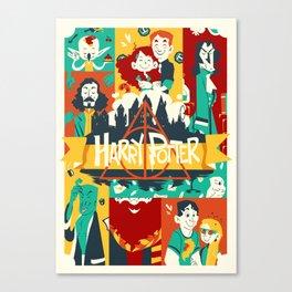 Potter Tribute Canvas Print