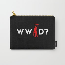Evil Dead Army of Darkness Bruce Campbell: What Would Ash Do? Carry-All Pouch