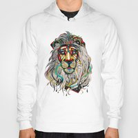 lion king Hoodies featuring Lion by Felicia Atanasiu