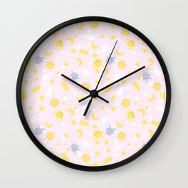 cardcaptor sakura cute pink Wall Clock