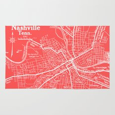 Vintage Nashville Pink Rug