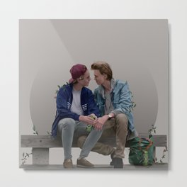 LOVE, EVAK. (light version) Metal Print