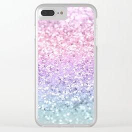 Unicorn Girls Glitter #1 #shiny #pastel #decor #art #society6 Clear iPhone Case