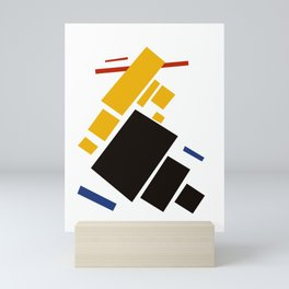 Geometric Abstract Malevic #11 Mini Art Print