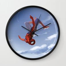 Web Head Wall Clock
