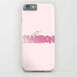 Madison Pink Baddie  iPhone Case